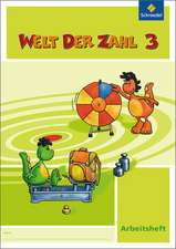 Welt der Zahl 3. Arbeitsheft. Nordrhein-Westfalen
