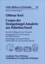 Corpus Der Stempelsiegel-Amulette Aus Palastina/Israel:  Von Den Anfangen Bis Zur Perserzeit