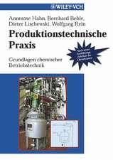 Produktionstechnische Praxis: Grundlagen chemischer Betriebstechnik