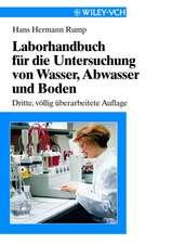 Laborhandbuch für die Untersuchung von Wasser, Abwasser und Boden