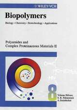 Biopolymers: Biology, Chemistry, Biotechnology, Applications Polyamides and Complex Proteinaceous Materials II