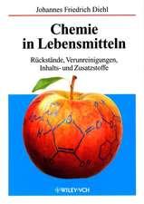 Chemie in Lebensmitteln: Rückstände, Verunreinigungen, Inhalts– und Zusatzstoffe