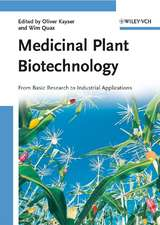 Medicinal Plant Biotechnology: From Basic Research to Industrial Applications 2 Volume Set