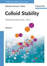 Colloid Stability: The Role of Surface Forces – Part II