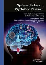 Systems Biology in Psychiatric Research: From High–Throughput Data to Mathematical Modeling