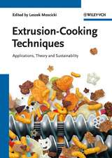 Extrusion–Cooking Techniques: Applications, Theory and Sustainability