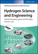 Hydrogen Science and Engineering: Materials, Processes, Systems, and Technology 2 Volume Set