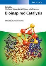 Bioinspired Catalysis: Metal–Sulfur Complexes