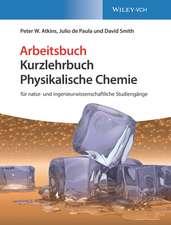Physikalische Chemie: für natur– und ingenieurwissenschaftliche Studiengänge. Arbeitsbuch