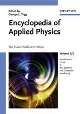 Encyclopedia of Applied Physics, 12 Volume Set