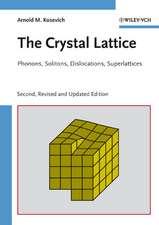 The Crystal Lattice: Phonons, Solitons, Dislocations, Superlattices