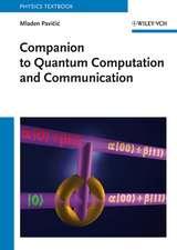 Companion to Quantum Computation and Communication