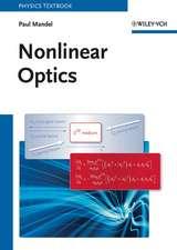 Nonlinear Optics: An Analytical Approach