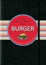 Little Black Book der Burger: Lecker durch und durch – mit und ohne Fleisch