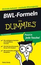 BWL–Formeln für Dummies