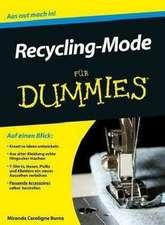 Recycling–Mode für Dummies