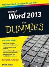 Word 2013 für Dummies