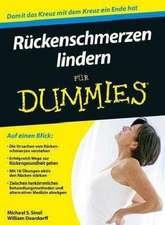 Ruckenschmerzen lindern für Dummies