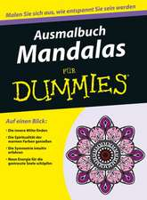 Ausmalbuch Mandalas für Dummies