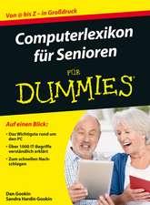 Computerlexikon für Senioren für Dummies