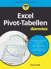 Excel Pivot–Tabellen für Dummies