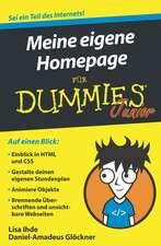 Meine eigene Homepage für Dummies Junior