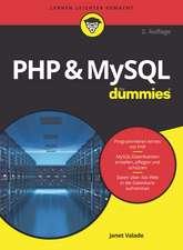 PHP and MySQL für Dummies