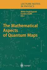 The Mathematical Aspects of Quantum Maps