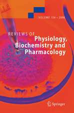 Reviews of Physiology, Biochemistry and Pharmacology 156