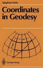 Coordinates in Geodesy