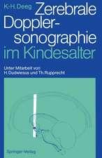 Zerebrale Dopplersonographie im Kindesalter