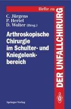 Arthroskopische Chirurgie im Schulter- und Kniegelenkbereich