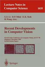 Recent Developments in Computer Vision: Second Asian Conference on Computer Vision, ACCV `95, Singapore, December 5-8, 1995. Invited Session Papers
