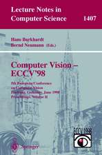 Computer Vision - ECCV'98: 5th European Conference on Computer Vision, Freiburg, Germany, June 2-6, 1998, Proceedings, Volume II