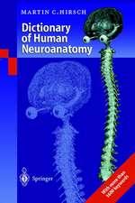 Dictionary of Human Neuroanatomy