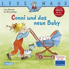 Conni und das neue Baby: LESEMAUS ab 3 Jahren/ De la 3 ani (3-6 ani)