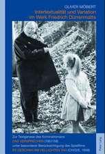 Intertextualitaet Und Variation Im Werk Friedrich Duerrenmatts:  Zur Textgenese Des Kriminalromans Das Versprechen (1957/58) Unter Besonderer Beruecksi