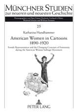 American Women in Cartoons 1890-1920