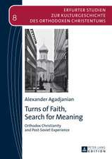 Turns of Faith, Search for Meaning