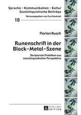 Runenschrift in Der Black-Metal-Szene:  Eine Rechtsvergleichende, Dogmatische Studie