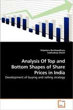 Analysis Of Top and Bottom Shapes of Share Prices in India