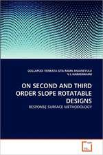 On Second and Third Order Slope Rotatable Designs