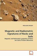 Magnetic and Radiometric Signatures of Rocks and Soils