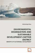 Environmental Degradation and Sustainable Development-Chittor District