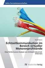 Echtzeitkommunikation im Bereich virtueller Motorenprüfstände