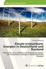 Einsatz erneuerbarer Energien in Deutschland und Russland