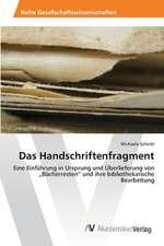 Das Handschriftenfragment