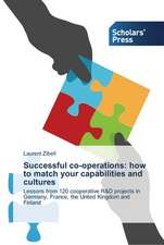 Successful co-operations: how to match your capabilities and cultures