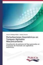 Perturbaciones Geometricas En Tanques Agitados Mecanicamente:  Emilio Carrere y Edgar Neville