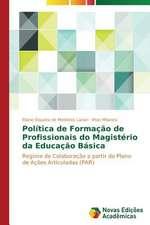 Politica de Formacao de Profissionais Do Magisterio Da Educacao Basica:  Fatores de Resistencia E Susceptibilidade